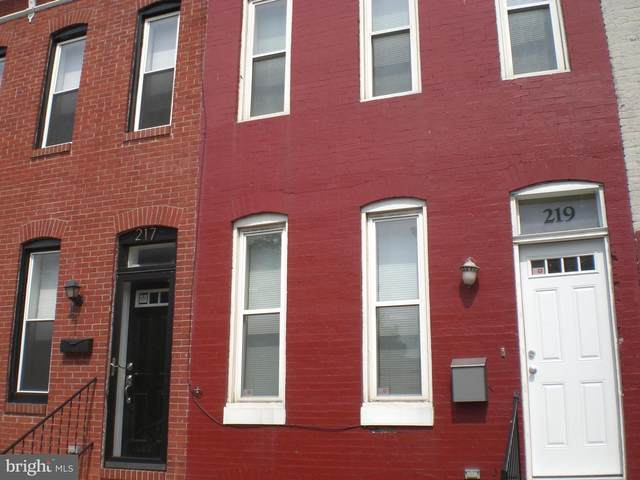 219 S Fulton Avenue, BALTIMORE, MD 21223 (#MDBA515664) :: The Miller Team