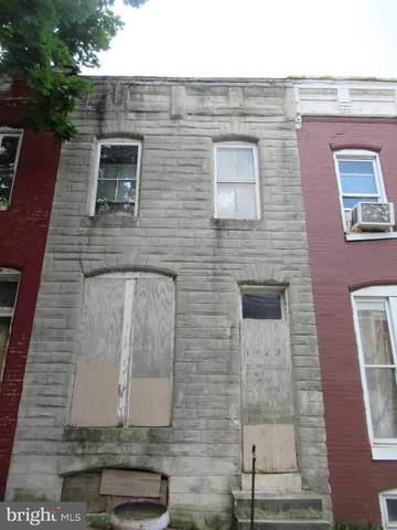 1923 Lauretta Avenue, BALTIMORE, MD 21223 (#MDBA515980) :: The Miller Team
