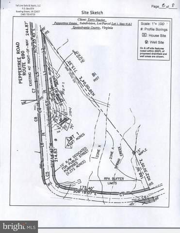 Lot 1 Peppertree est Peppertree Road, SPOTSYLVANIA, VA 22553 (#VASP223308) :: Bruce & Tanya and Associates