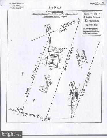 Lot 2 Peppertree est Peppertree Road, SPOTSYLVANIA, VA 22553 (#VASP223314) :: Bruce & Tanya and Associates