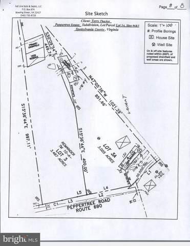 Lot 3 Peppertree est Peppertree Road, SPOTSYLVANIA, VA 22553 (#VASP223316) :: Bruce & Tanya and Associates