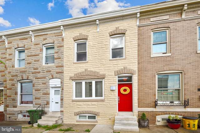 137 S Eaton Street, BALTIMORE, MD 21224 (#MDBA516314) :: Bob Lucido Team of Keller Williams Integrity