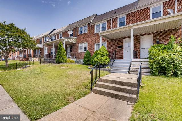 413 Hornel Street, BALTIMORE, MD 21224 (#MDBA516386) :: Better Homes Realty Signature Properties