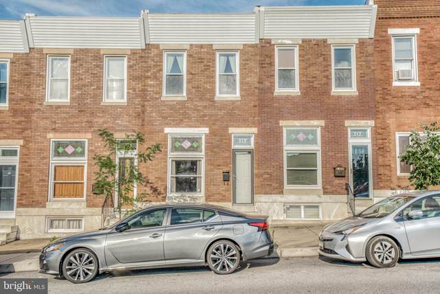 515 S Linwood Avenue, BALTIMORE, MD 21224 (#MDBA516528) :: The Miller Team