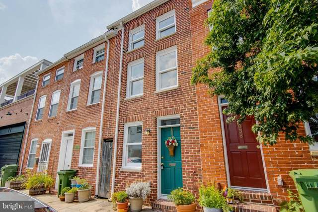 2036 Fountain Street, BALTIMORE, MD 21231 (#MDBA516640) :: The Miller Team