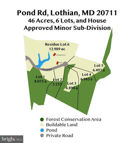 600 Pond Road, LOTHIAN, MD 20711 (#MDAA439998) :: EXIT Realty Enterprises