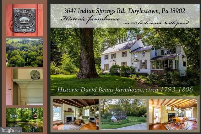 3647 Indian Springs Road, DOYLESTOWN, PA 18902 (#PABU501438) :: LoCoMusings
