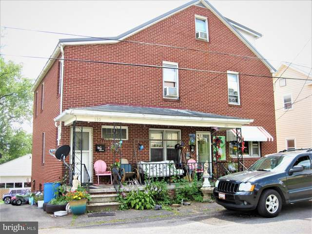 133-135 Mount Pleasant Street, FROSTBURG, MD 21532 (#MDAL134696) :: LoCoMusings
