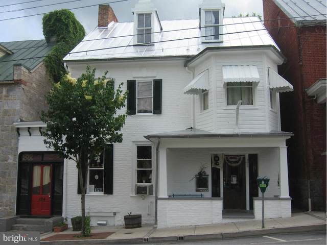 124 & 126 W German Street, SHEPHERDSTOWN, WV 25443 (#WVJF139438) :: Jennifer Mack Properties