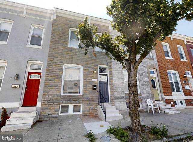 2642 Hampden Avenue, BALTIMORE, MD 21211 (#MDBA517102) :: Blackwell Real Estate