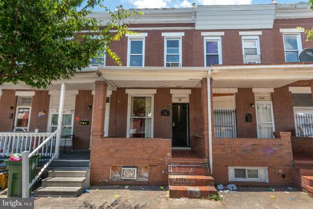 528 N Curley Street, BALTIMORE, MD 21205 (#MDBA517280) :: The Schiff Home Team