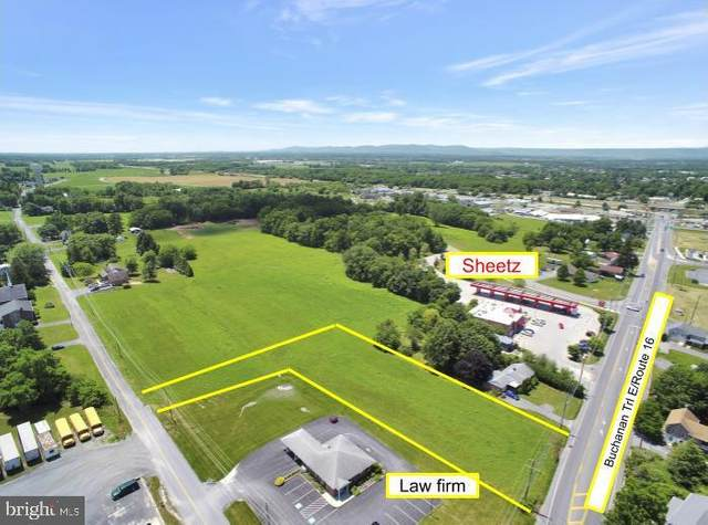 Route 16/Buchanan Trail E, GREENCASTLE, PA 17225 (#PAFL174000) :: Bowers Realty Group