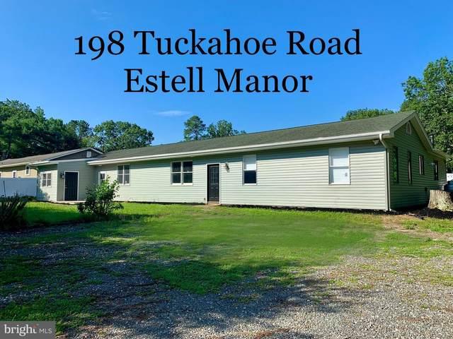 198 Tuckahoe Road, ESTELL MANOR, NJ 08319 (MLS #NJAC114294) :: The Dekanski Home Selling Team