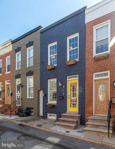 313 S Madeira Street, BALTIMORE, MD 21231 (#MDBA517826) :: SURE Sales Group