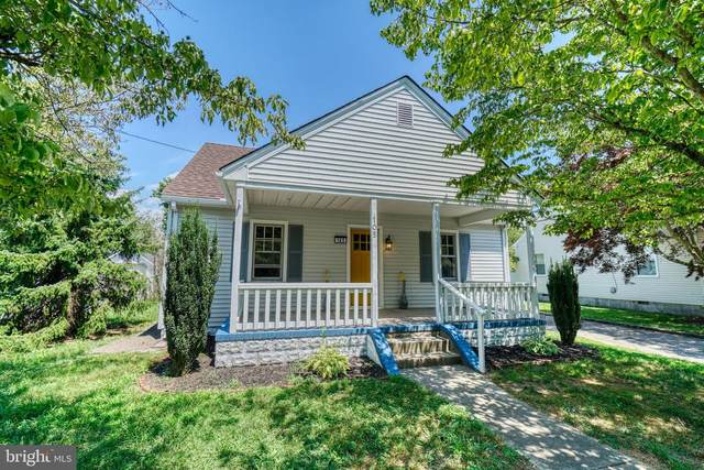 105 Hayward Avenue, FRUITLAND, MD 21826 (#MDWC109104) :: BayShore Group of Northrop Realty