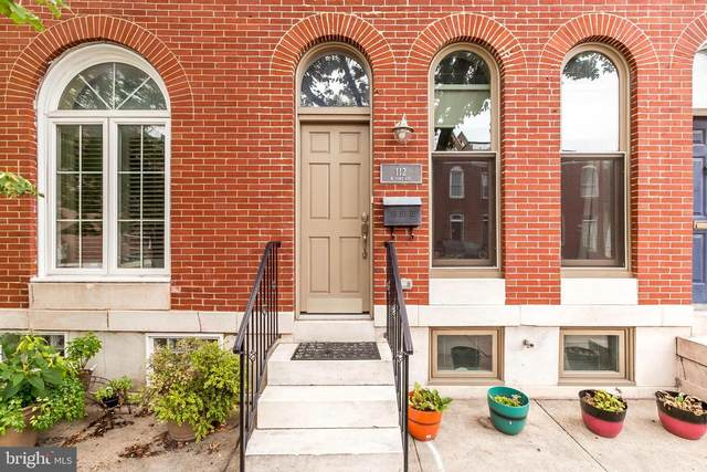 112 W Fort Avenue, BALTIMORE, MD 21230 (#MDBA518824) :: The Miller Team