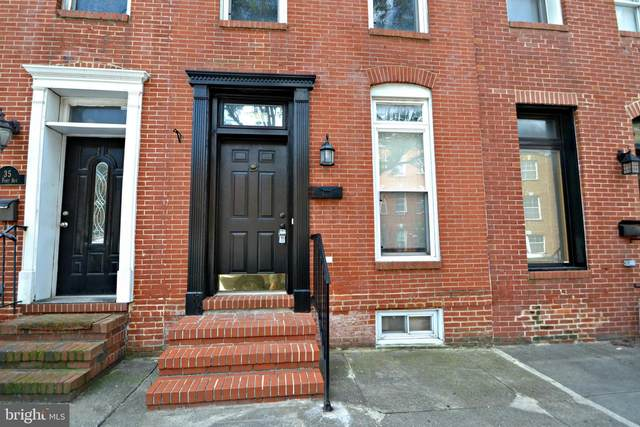 33 E Fort Avenue, BALTIMORE, MD 21230 (#MDBA518864) :: Corner House Realty