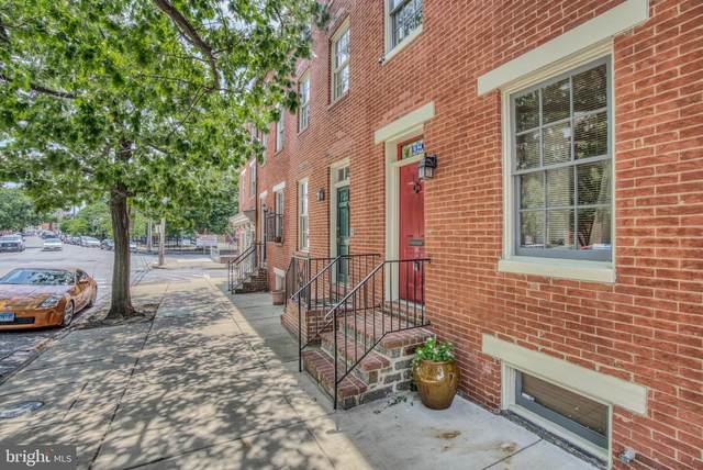 914 William Street, BALTIMORE, MD 21230 (#MDBA519184) :: The Miller Team