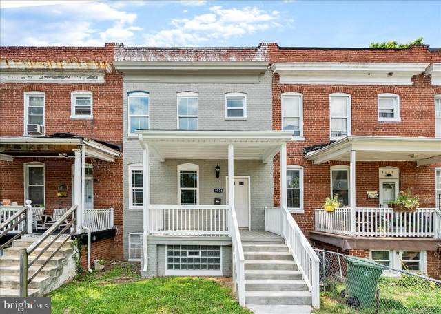 4026 Hayward Avenue, BALTIMORE, MD 21215 (#MDBA520056) :: Corner House Realty