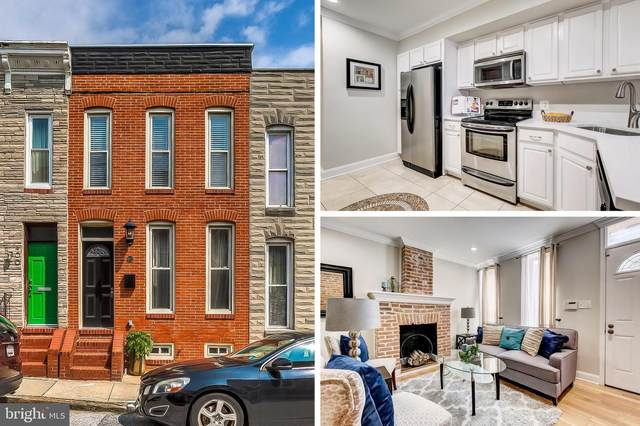 402 E Clement Street, BALTIMORE, MD 21230 (#MDBA520420) :: Speicher Group of Long & Foster Real Estate