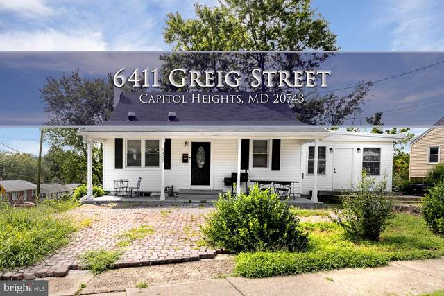 6411 Greig Street, CAPITOL HEIGHTS, MD 20743 (#MDPG577620) :: AJ Team Realty