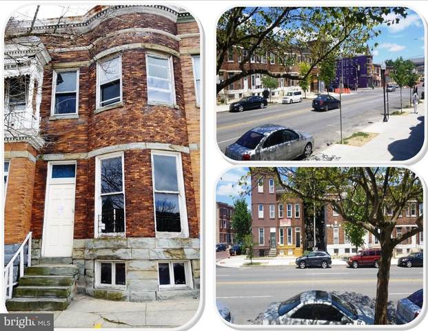 1821 W North Avenue, BALTIMORE, MD 21217 (#MDBA520556) :: Speicher Group of Long & Foster Real Estate