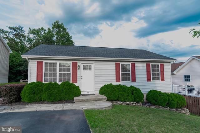 22 Planet Court, MARTINSBURG, WV 25404 (#WVBE179576) :: Pearson Smith Realty