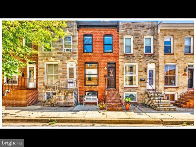 1335 Richardson Street, BALTIMORE, MD 21230 (#MDBA521118) :: AJ Team Realty