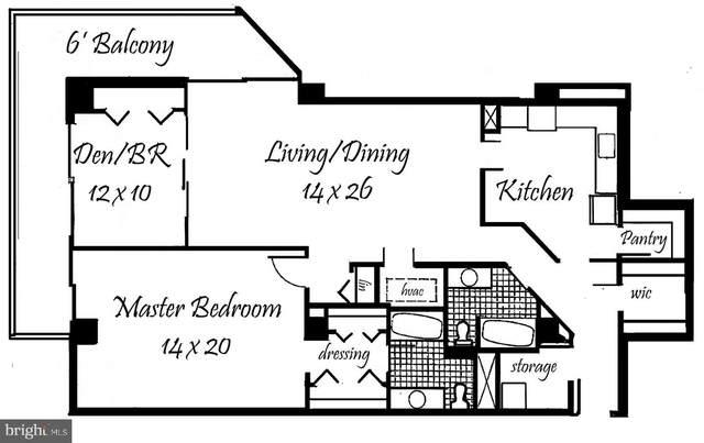 3800 Fairfax Drive #813, ARLINGTON, VA 22203 (#VAAR168180) :: Crossman & Co. Real Estate