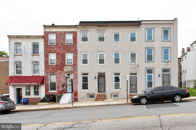 922 N Caroline Street, BALTIMORE, MD 21205 (#MDBA521374) :: The Sky Group