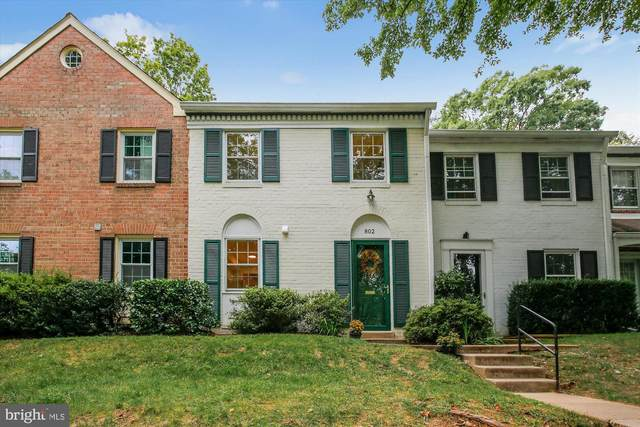 802 Azalea Drive #16, ROCKVILLE, MD 20850 (#MDMC723542) :: Advon Group
