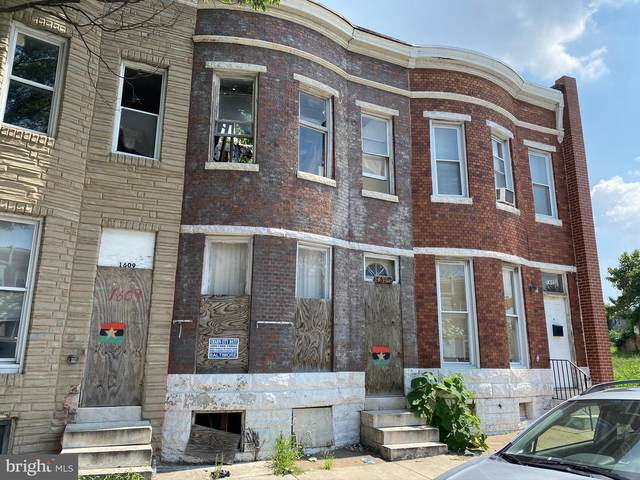 1607 N Fulton Avenue, BALTIMORE, MD 21217 (#MDBA522850) :: Jennifer Mack Properties