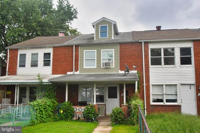 2103 Larkhall Road, BALTIMORE, MD 21222 (#MDBC505484) :: AJ Team Realty