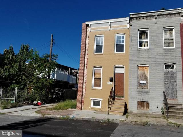 1602 N Regester Street, BALTIMORE, MD 21213 (#MDBA523140) :: The Sky Group