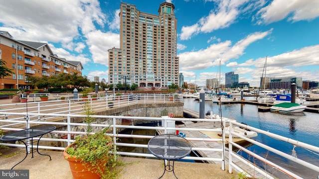 100 Harborview Drive #408, BALTIMORE, MD 21230 (#MDBA523590) :: The Putnam Group