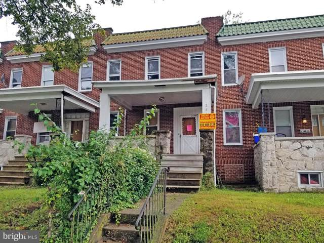 2532 Park Heights Terrace, BALTIMORE, MD 21215 (#MDBA523646) :: AJ Team Realty