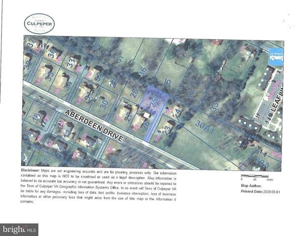 Aberdeen Drive, CULPEPER, VA 22701 (#VACU142554) :: Shamrock Realty Group, Inc