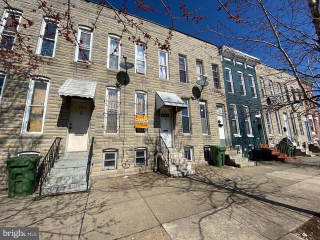 1814 Wilkens Avenue, BALTIMORE, MD 21223 (#MDBA524220) :: Jennifer Mack Properties