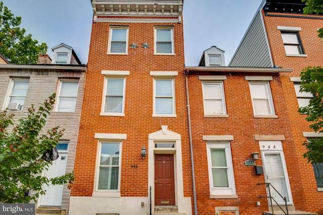 946 W Lombard Street, BALTIMORE, MD 21223 (#MDBA524452) :: The Redux Group