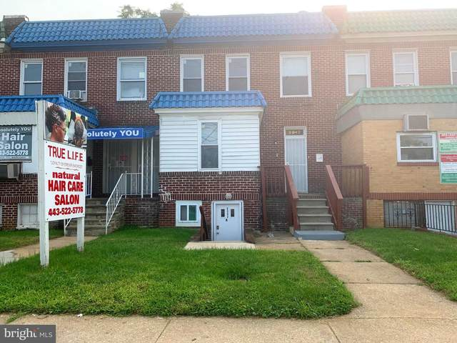 5342 Reisterstown Road, BALTIMORE, MD 21215 (#MDBA524474) :: Pearson Smith Realty
