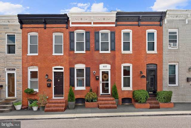 407 Sanders Street, BALTIMORE, MD 21230 (#MDBA524684) :: ExecuHome Realty