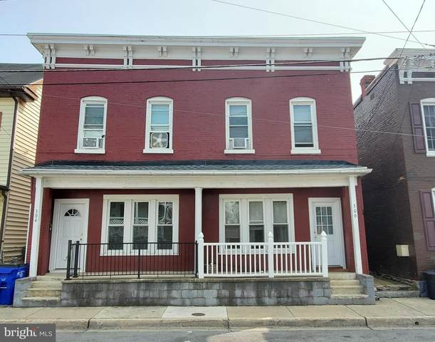 304-306 S Locust Street, HAGERSTOWN, MD 21740 (#MDWA174800) :: The Licata Group/Keller Williams Realty