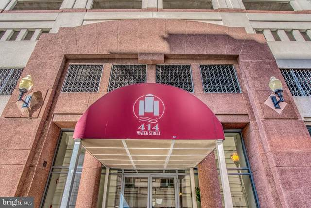 414 Water Street #2106, BALTIMORE, MD 21202 (#MDBA525542) :: The Putnam Group
