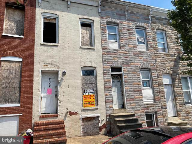 209 S Monroe Street, BALTIMORE, MD 21223 (#MDBA525790) :: Jennifer Mack Properties