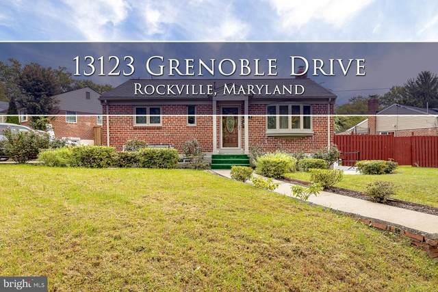 13123 Grenoble Drive, ROCKVILLE, MD 20853 (#MDMC727600) :: The Maryland Group of Long & Foster Real Estate