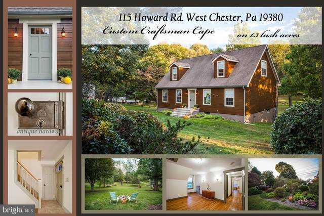 115 Howard Road, WEST CHESTER, PA 19380 (#PACT517438) :: Certificate Homes