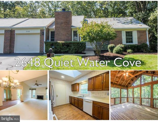 2648 Quiet Water Cove, ANNAPOLIS, MD 21401 (#MDAA448140) :: The Redux Group