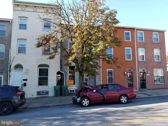1405 E Eager Street, BALTIMORE, MD 21205 (#MDBA526022) :: The Riffle Group of Keller Williams Select Realtors