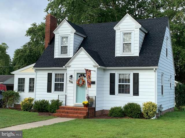 506 Hickory Lane, SEAFORD, DE 19973 (#DESU170340) :: CoastLine Realty