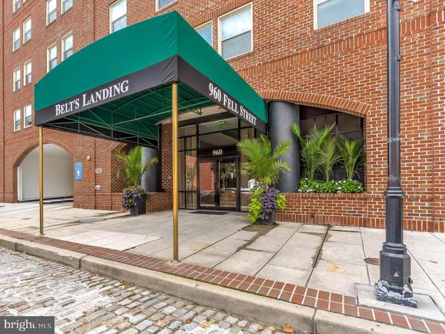 960 Fell Street #705, BALTIMORE, MD 21231 (#MDBA526564) :: SP Home Team